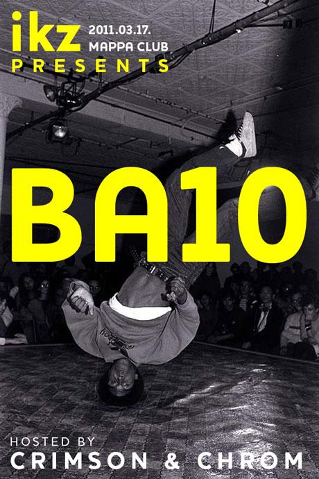 ikz presents Ba10