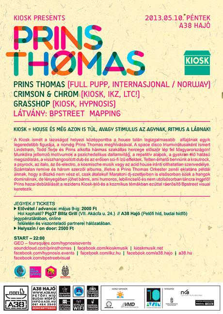 PRINS THOMAS @ A38