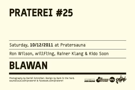 Blawan & Ron Wilson @ Wien